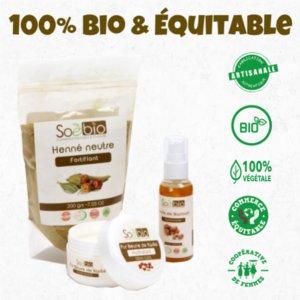 site de vente de produits cosmétiques Bio issus du commerce équitable